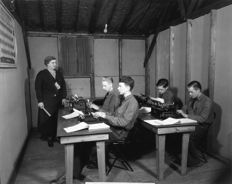 civilian typing